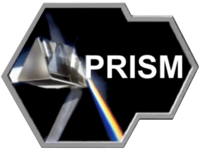 PRISM logo used in the slides, known to have illegally adapted a photograph by Adam Hart-Davis