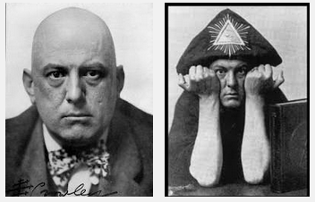 """Shockingly, Aleister Crowley's famous saying, DO AS THOU WILT, actually came from Benjamin Franklin. Franklin was an occultist, Satanist and indulged in child sacrifice. Franklin attended the drunken, ritual orgies of a secret society called, among other things, the Hellfire Club. They would get drunk, dress prostitutes up like Nuns and have orgies in underground caves, which resembled Black Masses (although they """"worshipped"""" pagan deities Bacchus and Venus). While not actual professed Satanists, their motto Fait ce que vouldras (Do what thou wilt) was later used by Satanist Aleister Crowley. Truth is indeed stranger than fiction. The Marilyn Manson song """"Misery Machine"""" contains the lyrics, """"We're gonna ride to the abbey of Thelema."""" The Abbey of Thelema was the temple of Satanist Aleister Crowley. The self-proclaimed """"World's Most Wicked Man"""" ate the feces of women during bizarre sexual acts involving Luciferian worship and Satanism. According to the shocking documentary film titled, """"IN SEARCH OF THE GREAT BEAST"""" directed by Robert Garofalo and produced by Lyn Beardsall (2007), Barbara Bush (wife of President George H. Bush) is the daughter of the world's most infamous Satanist, Aleister Crowley."""