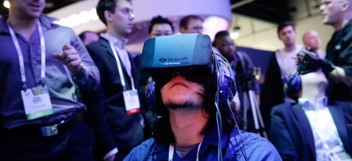 The virtual reality tool Oculus, a wow-producing technology recently acquired by Facebook, has the potential to transform entertainment, social networking — and warfighting, some defense contractors say.