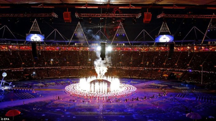 London 2012 Paralympics Opening Ceremony. 8-29-2013