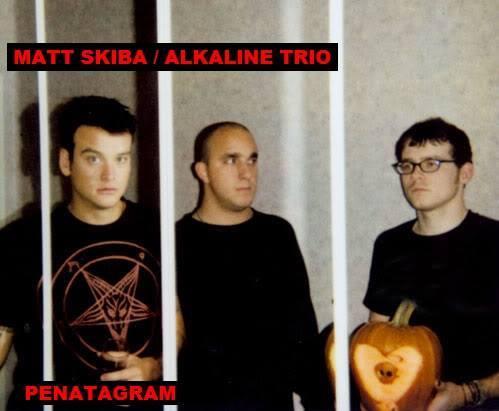 music artist MATT SKIBA from the band ALKALINE TRIO