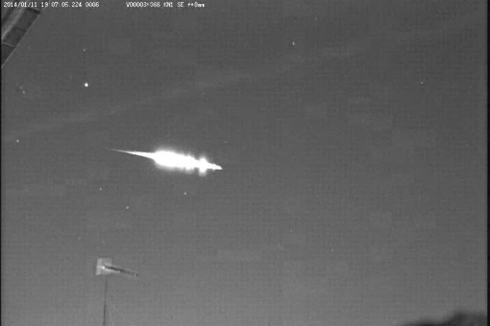 Fireball Meteor in Japan on 1-11-2014.