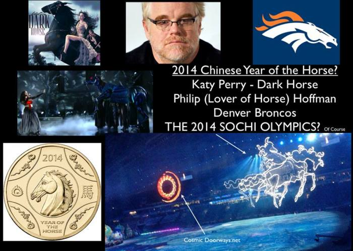 via Mark Gray: A horse is a horse, of course, of course, And no one can talk to a horse, of course, Unless, of course, the horse, of course, is in the 2014 Sochi Olympic Opening Ceremony.