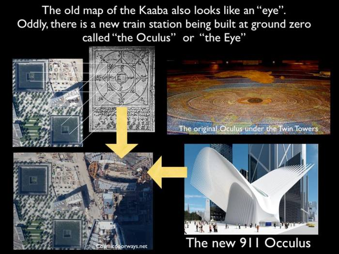 """Mark Gray - Mark Gray Yesterday · The placement of the Kaaba Diagram also reveals the location of the """"Oculus"""", the Hidden Eye."""