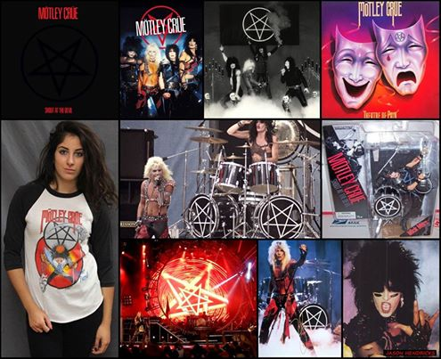 "Jason Hendricks -   Here you see 80's rock band MOTLEY CREU which is 1 out of hundreds of early rock bands that promoted satanism throughout their music just as most do today. Many Christians become overwhelmed when shown all this satanic symbolism that is being promoted to the masses but fail to understand that all this symbolism is all around you & is nothing new. All this is done with an agenda to purposely condition children & teenagers at a young age with this satanic symbolism so they accept it much easier as they get older. Most of you grew up being brainwashed with it even if you haven't realized it yet. That why today's generation is so numb to it & doesn't see anything wrong with the promotion of satanism & the occult. They have been programmed to see it as cool & to be accepted throughout society. EVEN MOST OF TODAY'S SELF PROCLAIMING, LUKEWARM CHRISTIANS ARE CONFORMED TO THIS WICKED WORLD BUT HAVE DECEIVED THEMSELVES INTO BELIEVING THEY FOLLOW JESUS CHRIST (YESHUA) WHEN THE FACT OF THE MATTER IS THEY ARE NOT. MOST ARE BLINDLY FOLLOWING AFTER THE VERY WICKED WORLD GOD COMMANDED US TO COME OUT OF. MANY ""SELF PROCLAIMING"" CHRISTIANS WILL END UP IN HELL BECAUSE THEY FAIL TO OBEY GOD & HIS WORD."