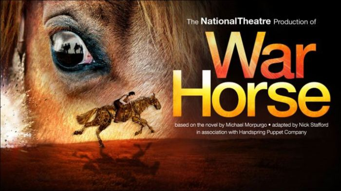 War Horse is now playing at the New London Theatre, Drury Lane. Now booking into 2014. UK and Ireland Tour, 2013 - 2014, details on the War Horse website.