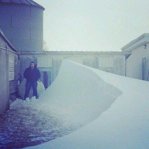 Drifting in northwest Ohio. 1-25-2014