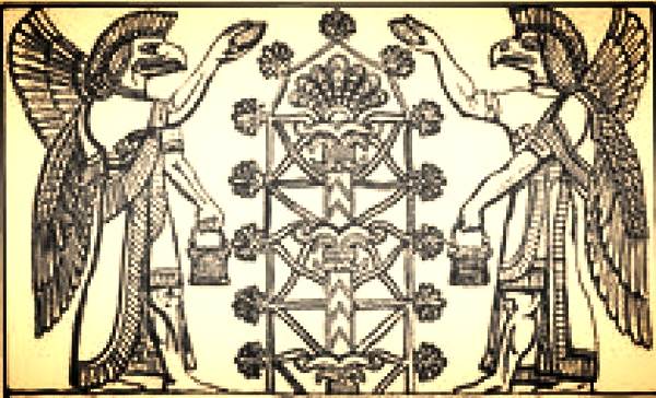 Assyrian Tree Of Life