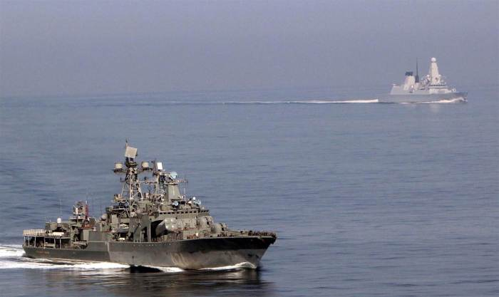 4-27-2014: The British navy is closely monitoring a Russian destroyer that approached its waters, it said in a statement.