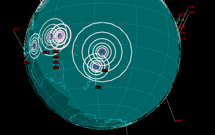 4-26-2014: 6.2 Magnitude Earthquake in Tonga.
