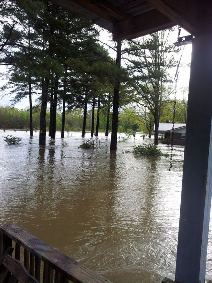 4-7-2014: Flooding in Braxton, Mississippi