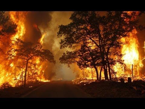5-5-2014: Oklahoma Wildfire.
