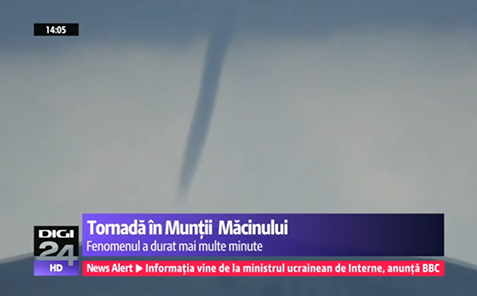 5-3-2014: A tornado has been reported in the Macin Mountains, Romania during the severe weather outbreak on Sunday. Here is a video report of the event: http://www.digi24.ro/Stiri/Digi24/Actualitate/Stiri/VIDEO+Tornada+in+Muntii+Macinului?fb_action_ids=524559064319138&fb_action_types=og.comments&fb_source=aggregation&fb_aggregation_id=288381481237582