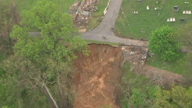 5-2-2014: Baltimore, Maryland Cemetery Mudslide.