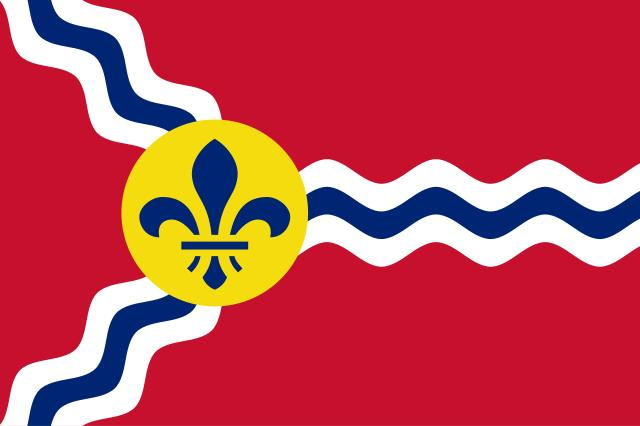 Trident Flag of St. Louis.
