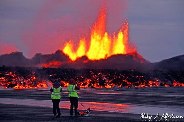 9-2-2014: Spectacular photo from Iceland's Bardarbunga volcano, captured by Helgi Arnar. Source: Helgi Arnar - www.helgiarnar.com via Ernesto Velázquez @N3T0V on Twitter