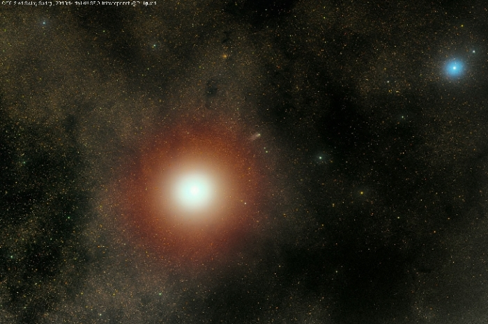 10-19-2014: Comet C/2013 A1 Siding Spring After The Encounter With Mars Taken by rolando ligustri on October 20, 2014 @ from Australia near SSO, ITelescope.net
