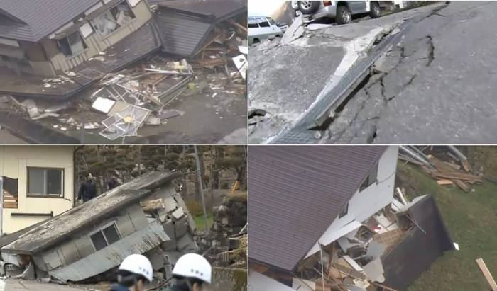 11-22-2014: MAJOR damage in Japan from 6.7M earthquake.