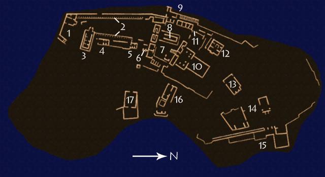 Philae Layout