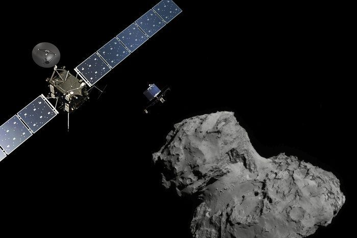 "11-12-2014: Scientists have successfully landed a probe on the surface of a comet in an historic first for space exploration, the European Space Agency (ESA) says. The lander, named Philae, left the Rosetta spacecraft and after a seven-hour descent, scientists at ESA confirmed its safe landing on the surface of comet 67P/Churyumov-Gerasimenko, just after 3:00am AEDT. ""Philae is talking to us,"" said Stephan Ulamec, the lander's manager. ""We are on the comet."" ""We definitely confirm that the lander is on the surface,"" said Andrea Accomazzo, flight operations director. ""We can't be happier than what we we are now."" ""This is a big step for human civilisation,"" said the agency's director general, Jean-Jacques Dordain, as a crowd of scientists, guests and VIPs cheered and applauded in relief."