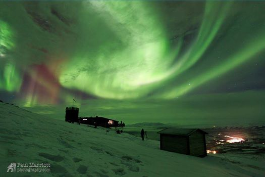 1-18-2015: Photo: Lights Over Lapland Aurora Photo Expedition participant Paul Marriott Source : Lights Over Lapland