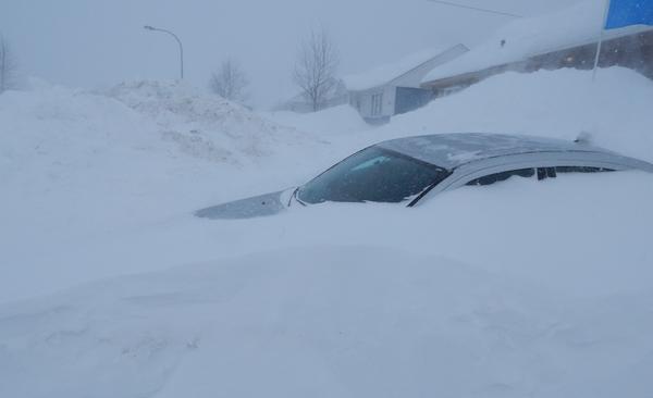 1-21-2015: Labrador City, Newfoundland, Canada