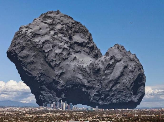 z cometa gigante
